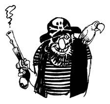 ۳۰. دزد دریایی بداخلاق