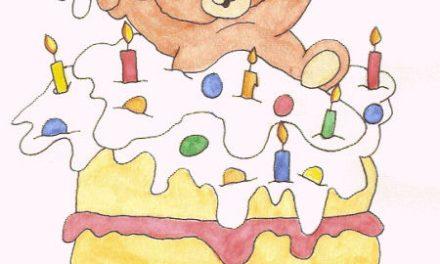 ۵۶. کیک تولد بِنی خرسه