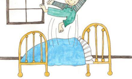 ۱۰. روی تختخواب پرش نکن
